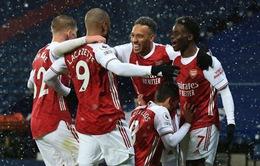Kết quả bóng đá sáng 3/1: West Brom 0-4 Arsenal, Real Madrid 2-0 Celta Vigo...