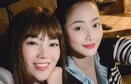 """Thanh Hương, Huyền Thạch nhí nhố hậu trường phim """"Mùa hoa tìm lại"""""""