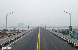 Cầu Thăng Long trước ngày thông xe