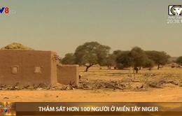Thảm sát hơn 100 người ở miền tây Niger