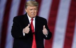 """Tổng thống Donald Trump cam kết sẽ chuyển giao quyền lực một cách """"trật tự"""""""