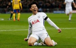"""Tottenham vội vã """"trói chân"""" Son Heung Min"""