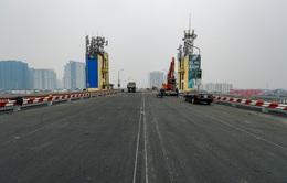 Hôm nay (7/1), thông xe cầu Thăng Long