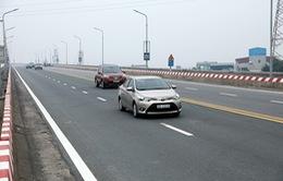 Chính thức thông xe cầu Thăng Long sau 5 tháng sửa chữa