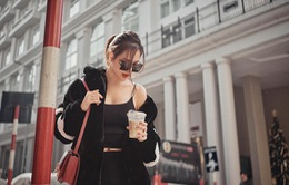 Phanh Lee tung bộ ảnh hờ hững giữa phố Đông Hà Nội