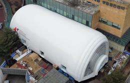 Hàn Quốc phát triển phòng cách ly áp lực âm di động