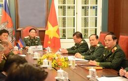Tăng cường hợp tác quốc phòng giữa Việt Nam và Campuchia