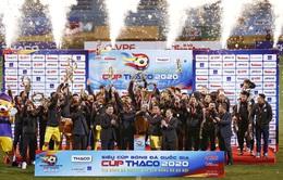 Kết quả CLB Viettel 0-1 CLB Hà Nội: Việt Anh ghi bàn duy nhất giúp CLB Hà Nội đoạt Siêu cúp Quốc gia 2020