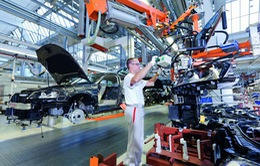 Thị trường ô tô Đức ghi nhận mức sụt giảm tồi tệ nhất trong 30 năm