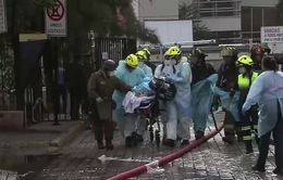 Cháy lớn tại bệnh viện Chile, hàng trăm bệnh nhân phải sơ tán