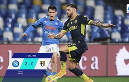 Napoli 2-0 Parma: Niềm vui chưa trọn vẹn