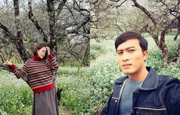 """Hé lộ Hồng Diễm - Doãn Quốc Đam siêu lãng mạn trong """"Hướng dương ngược nắng"""""""