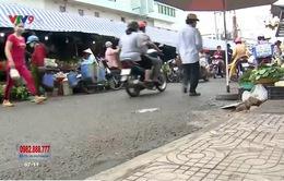 Đã khắc phục ô nhiễm tại chợ Vĩnh Long