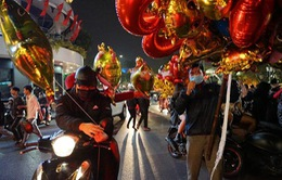 Một Hà Nội khác lạ đêm giao thừa Tết Tân Sửu 2021