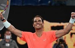 Australia mở rộng: Rafael Nadal thẳng tiến vào vòng 4
