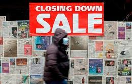 Kinh tế Anh tồi tệ nhất trong hơn 300 năm