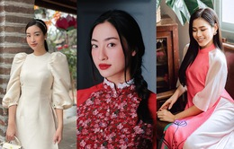 Đỗ Thị Hà và dàn Hoa hậu diện áo dài đầu xuân, ai cũng xinh đẹp ngút ngàn
