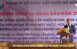 Chủ tịch UBND TP Đà Nẵng kiểm tra ra quân thi công đầu năm