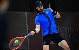 Andy Murray chuẩn bị tham dự giải quần vợt Montpellier mở rộng