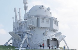 """Công viên Ghibli công bố sẽ xây dựng lâu đài """"Howl's Moving Castle"""""""