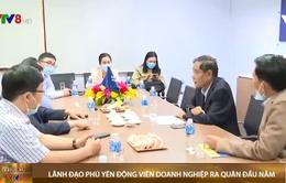 Lãnh đạo tỉnh Phú Yên động viên các doanh nghiệp ra quân đầu năm