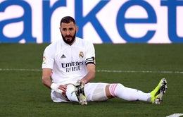 Real Madrid nhận tin dữ về Karim Benzema