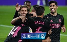 Real Valladolid 0-1 Real Madrid: Áp sát ngôi đầu