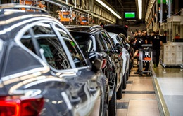 Ngành công nghiệp sản xuất ô tô điêu đứng vì thiếu hụt chip