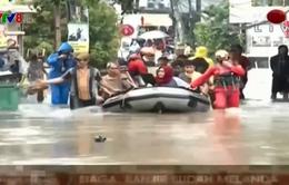 Mưa lớn gây ngập lụt nghiêm trọng tại Indonesia