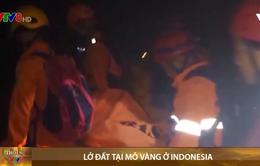Lở đất tại mỏ vàng ở Indonesia