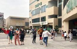 Kịp thời khống chế đám cháy tại chung cư Mipec Long Biên, Hà Nội