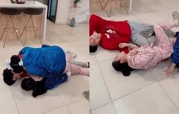 Hậu trường Hướng dương ngược nắng: Pha ăn mừng độc đáo của 3 mẹ con Minh