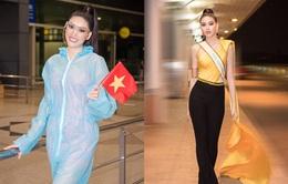 Á hậu Ngọc Thảo chính thức lên đường dự thi Miss Grand International