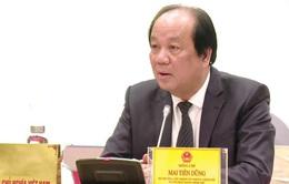 Bộ trưởng Mai Tiến Dũng: Không được ngăn sông, cấm chợ do lo ngại dịch COVID-19