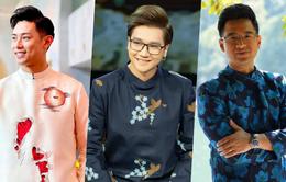 Muôn kiểu áo dài của các nam MC khi dẫn chương trình Tết