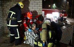 Cháy bệnh viện điều trị COVID-19 tại Ukraine, 4 người thiệt mạng