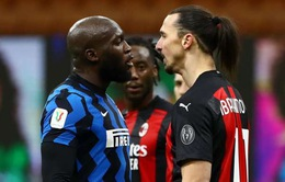LĐBĐ Italia điều tra lại vụ va chạm giữa Ibrahimovic và Lukaku