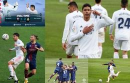 Real Madrid nhọc nhằn giành chiến thắng trước Huesca