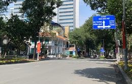 Đường phố TP Hồ Chí Minh vắng tanh trong ngày 28 Tết