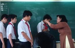 Xúc phạm nhà giáo, học sinh bị phạt đến 10 triệu đồng