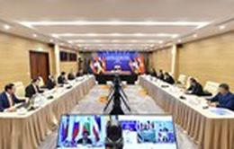 Thủ tướng Việt Nam -  Lào - Campuchia hội đàm trực tuyến