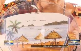 Ngắm phong cảnh Việt Nam qua tranh cát
