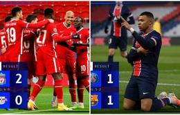 Kết quả Champions League hôm nay: Barca bị loại bởi PSG, Liverpool giành vé vào tứ kết