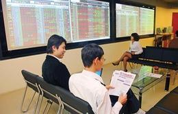 Cổ phiếu ngân hàng đắt khách, VN-Index tăng điểm
