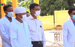 Dịch bệnh COVID-19 tiếp tục bùng phát trên diện rộng ở Campuchia
