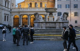 Italy tái áp dụng phong tỏa trước thềm Lễ Phục sinh