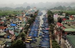 Hôm nay (13/3), chùa Hương mở cửa đón khách tham quan