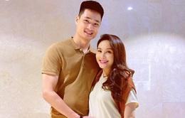 Dù bầu lớn, nữ diễn viên Bảo Thanh vẫn chăm chỉ đi quay