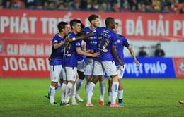 ẢNH: Đánh bại CLB Hải Phòng, CLB Hà Nội có chiến thắng đầu tiên tại V.League 2021