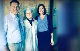 Cặp vợ chồng ngoại quốc gieo hi vọng cho người khuyết tật trí tuệ